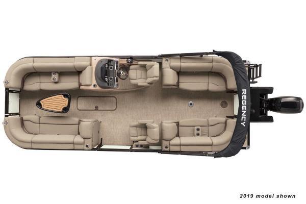 2020 Regency boat for sale, model of the boat is 230 DL3 & Image # 4 of 12