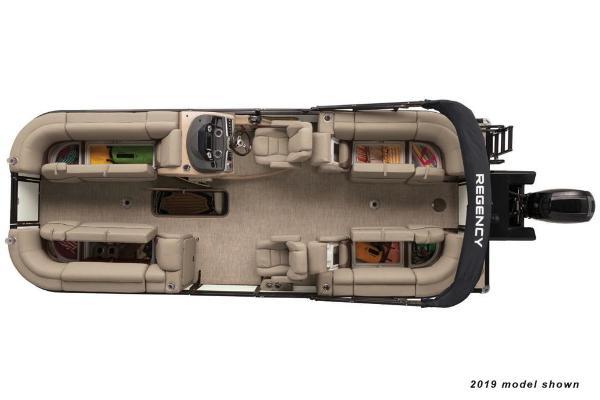 2020 Regency boat for sale, model of the boat is 230 DL3 & Image # 7 of 12