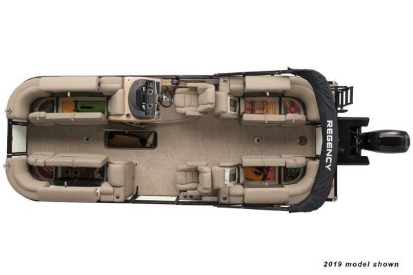 2020 Regency boat for sale, model of the boat is 230 DL3 & Image # 10 of 12