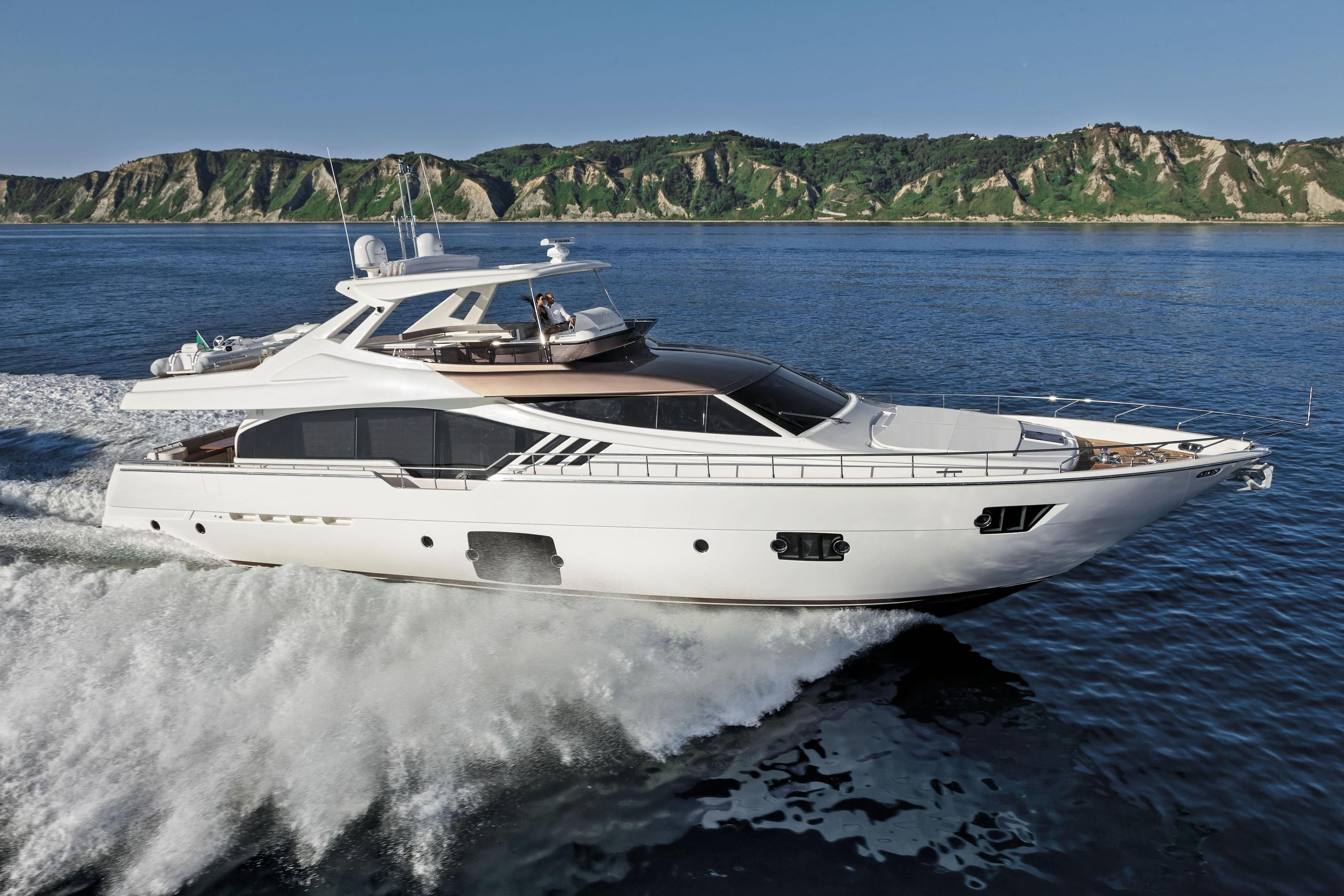 Manufacturer Provided Image: Ferretti 870
