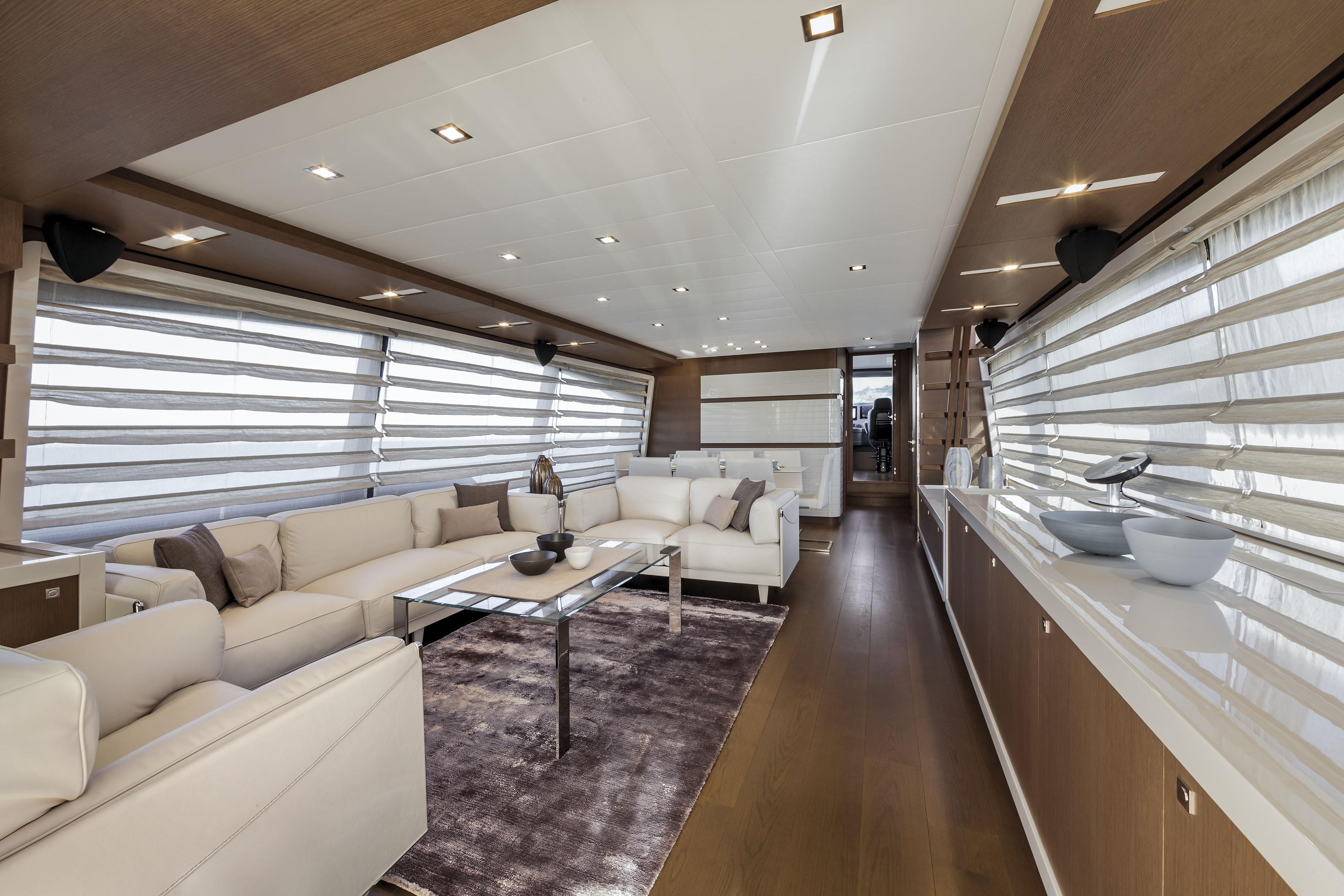 Manufacturer Provided Image: Ferretti 870 Interior