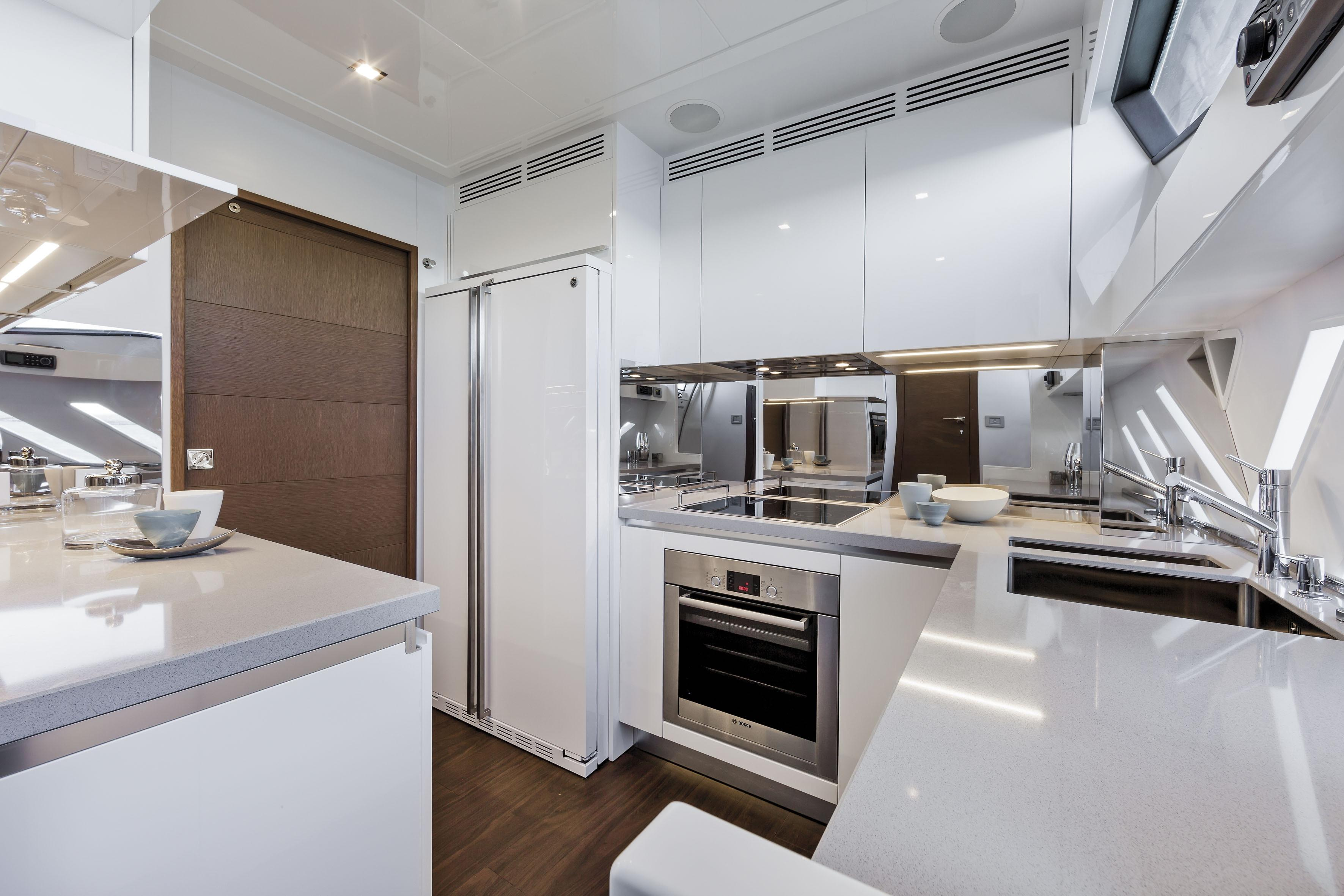 Manufacturer Provided Image: Ferretti 870 Galley