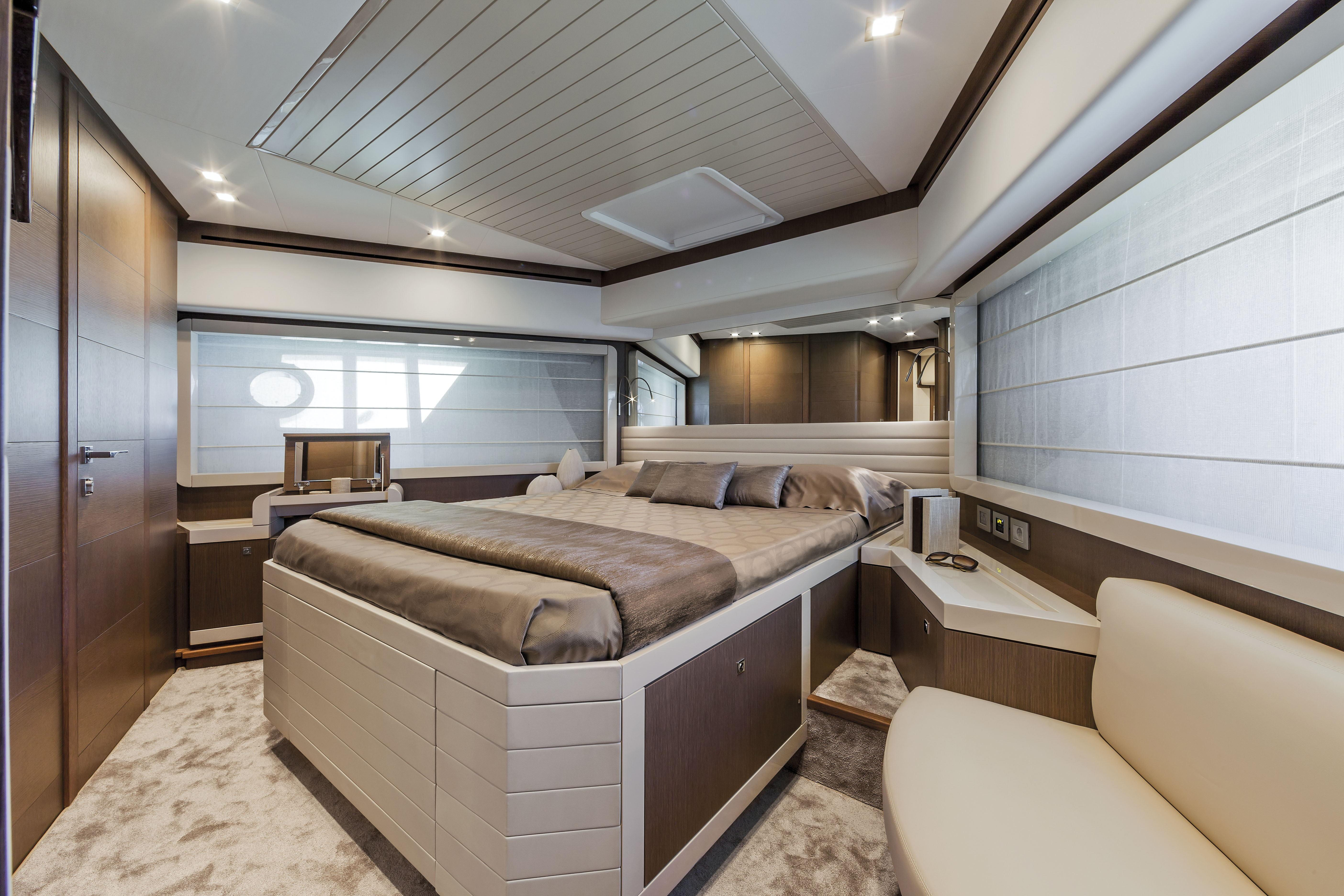 Manufacturer Provided Image: Ferretti 870 Cabin