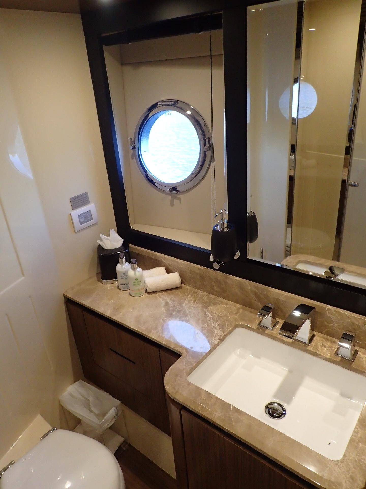 Azimut  PURA VIDA For Sale In Fort Lauderdale Florida US -  fort lauderdale bathroom mirror light