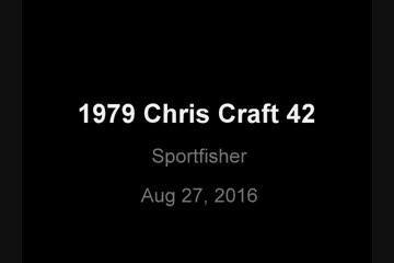 Chris-Craft Sport Fisher - Sedanvideo