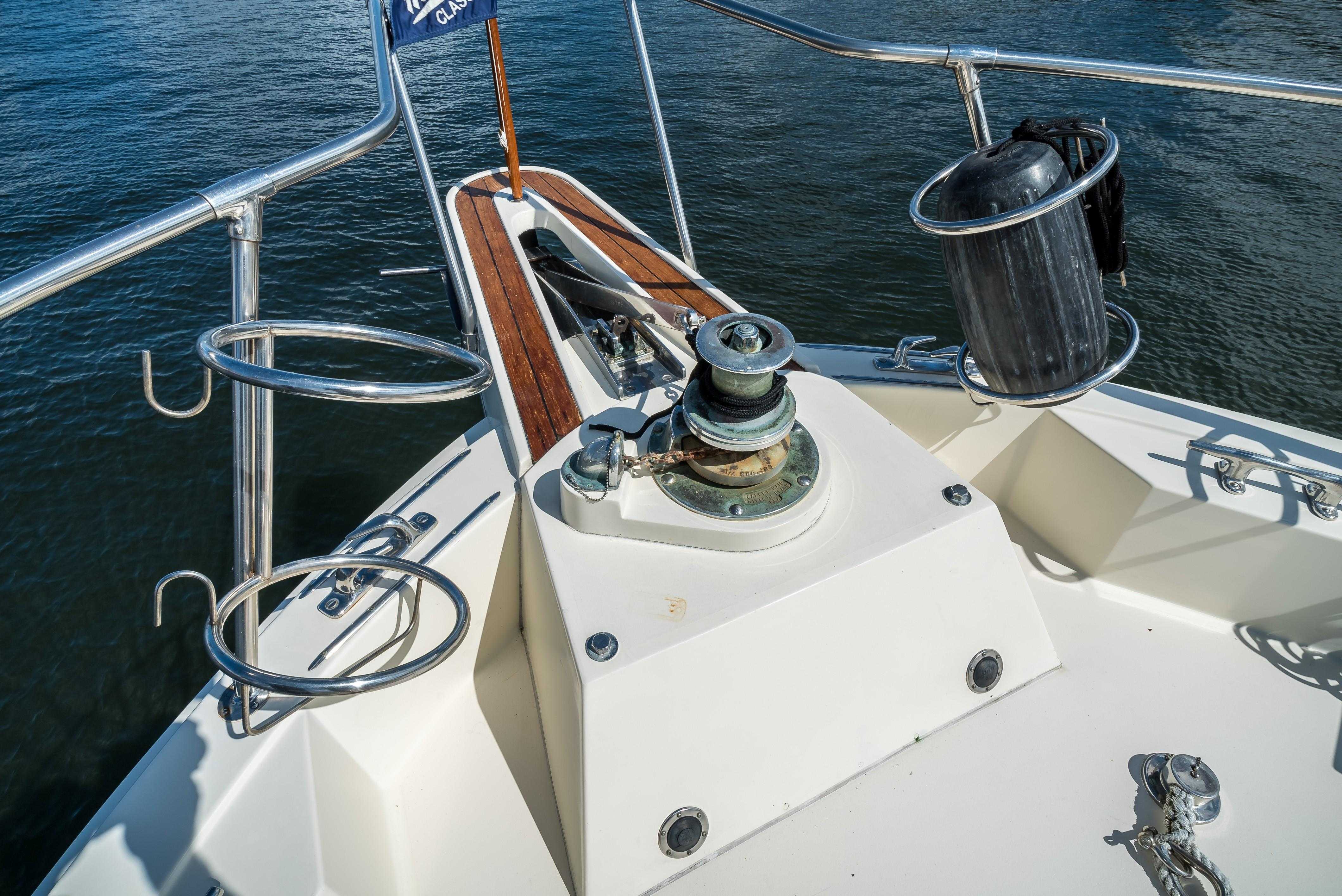 Windlass and Pulpit