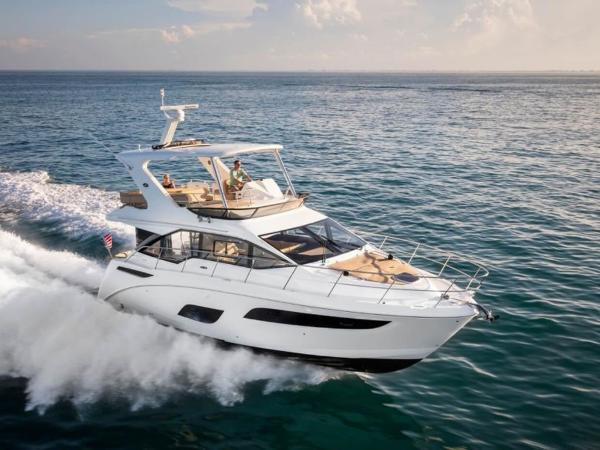 2020 Sea Ray boat for sale, model of the boat is Fly 460 & Image # 1 of 20