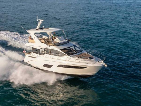 2020 Sea Ray boat for sale, model of the boat is Fly 460 & Image # 3 of 20