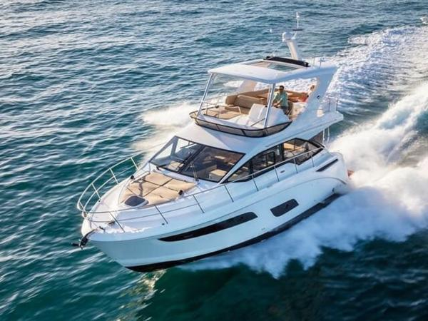 2020 Sea Ray boat for sale, model of the boat is Fly 460 & Image # 5 of 20