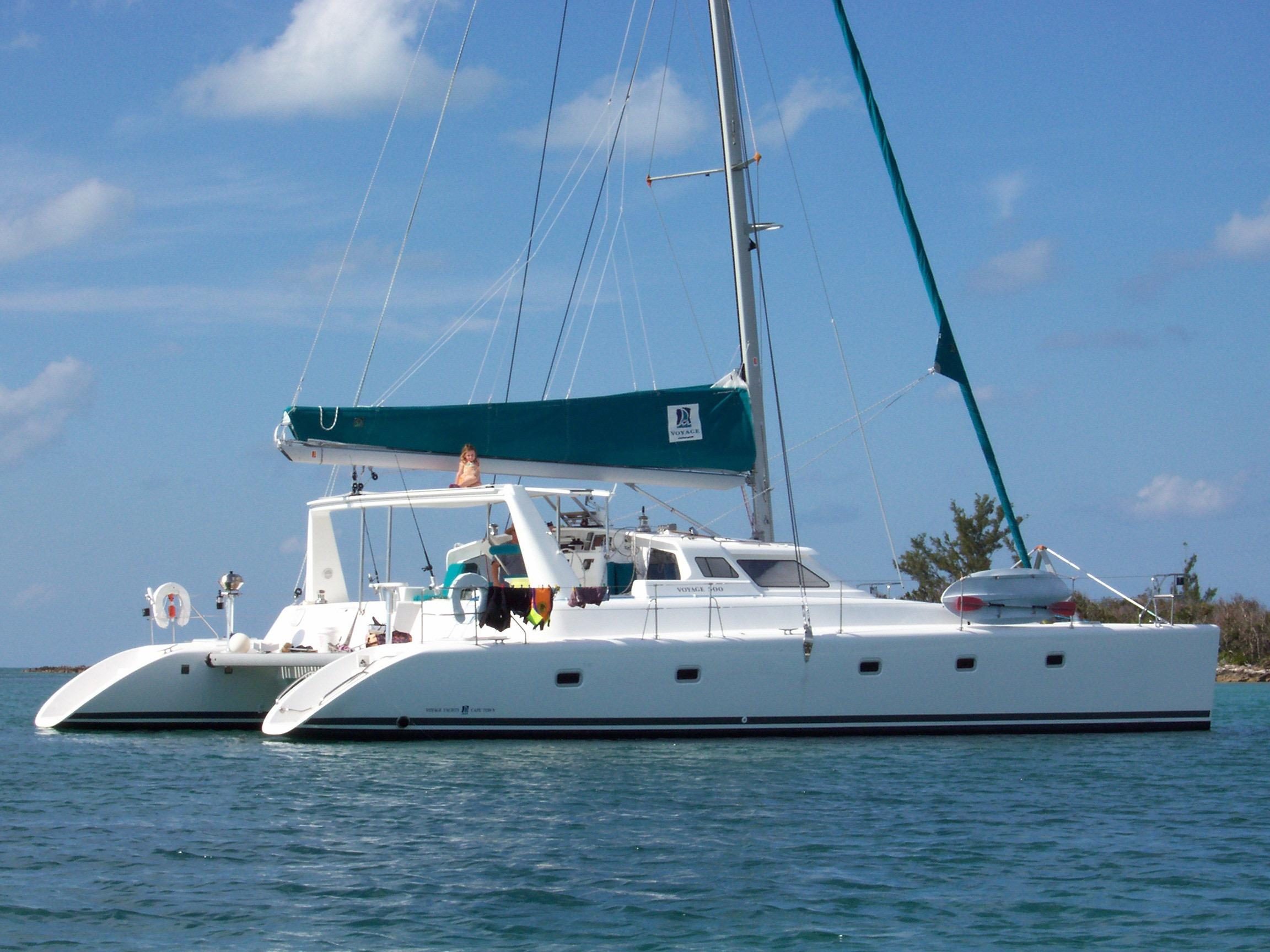 50' Voyage Yachts 2005 500 Owner's Version