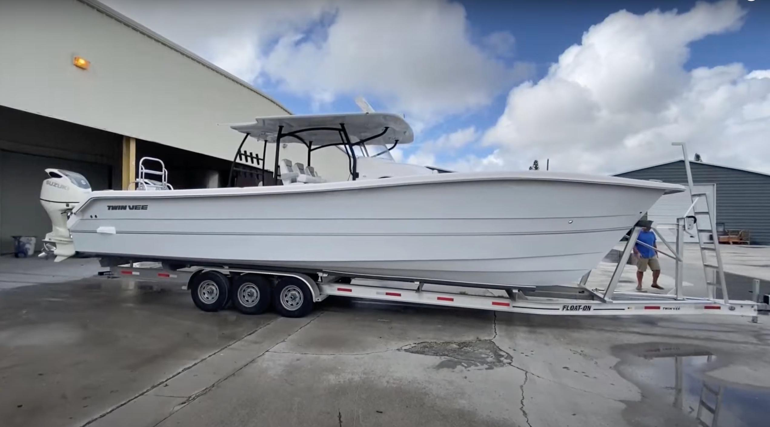 Twin Vee 36 Center Console GF Loaded