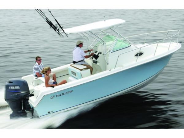 2020 Sailfish boat for sale, model of the boat is 220 WAC & Image # 2 of 7