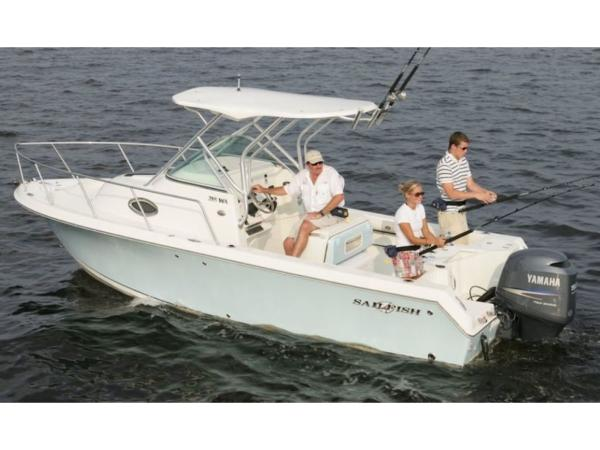 2020 Sailfish boat for sale, model of the boat is 220 WAC & Image # 4 of 7