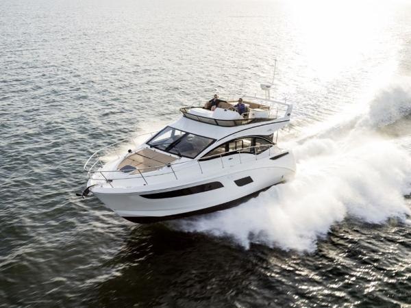2020 Sea Ray boat for sale, model of the boat is Fly 400 & Image # 2 of 23