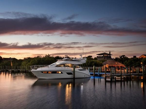 2020 Sea Ray boat for sale, model of the boat is Fly 400 & Image # 3 of 23