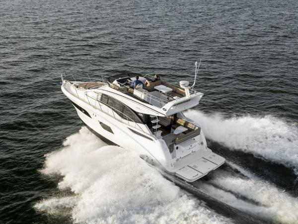 2020 Sea Ray boat for sale, model of the boat is Fly 400 & Image # 9 of 23