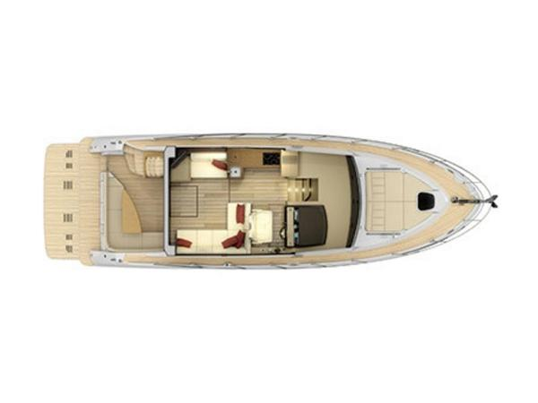 2020 Sea Ray boat for sale, model of the boat is Fly 400 & Image # 10 of 23