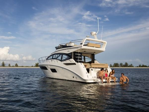2020 Sea Ray boat for sale, model of the boat is Fly 400 & Image # 14 of 23