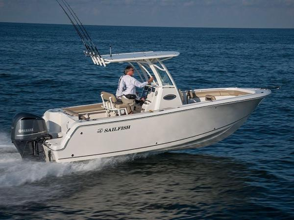 2020 Sailfish boat for sale, model of the boat is 241 CC & Image # 1 of 22