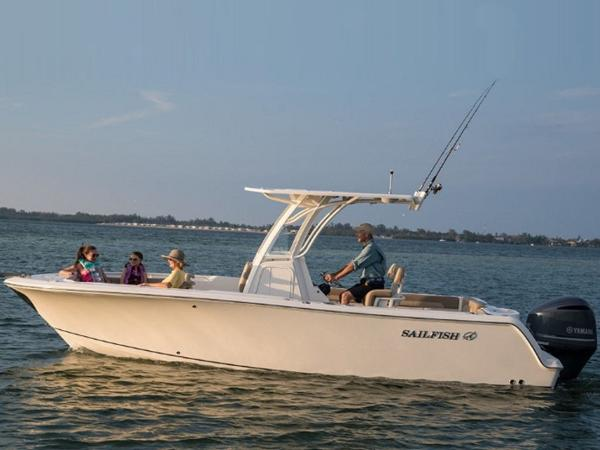 2020 Sailfish boat for sale, model of the boat is 241 CC & Image # 11 of 22