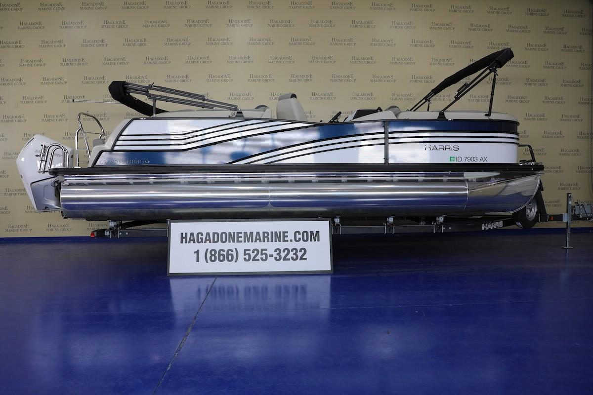 2019 Harris Grand Mariner 250