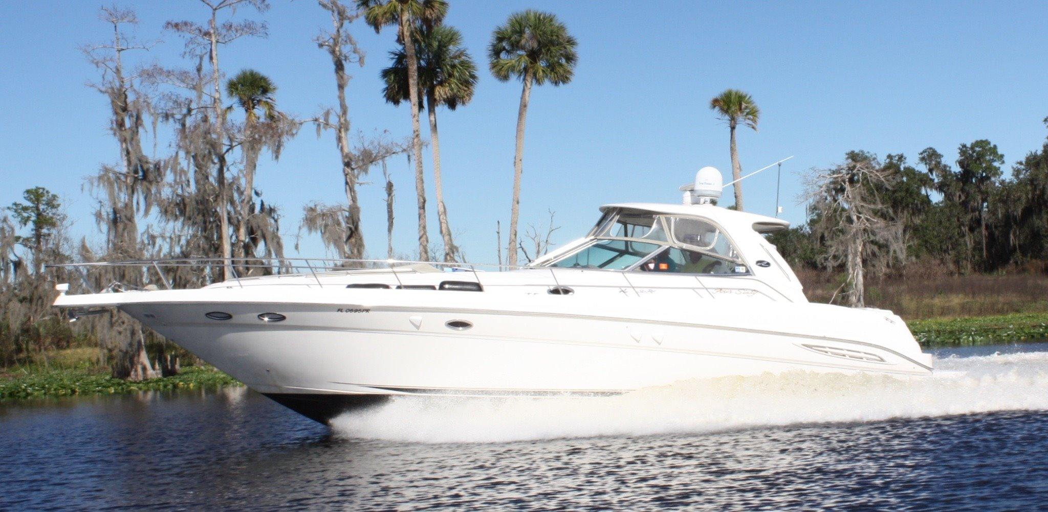 46' Sea Ray 2001 460 Sundancer