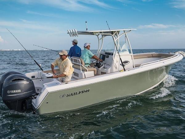 2020 Sailfish boat for sale, model of the boat is 242 CC & Image # 3 of 30
