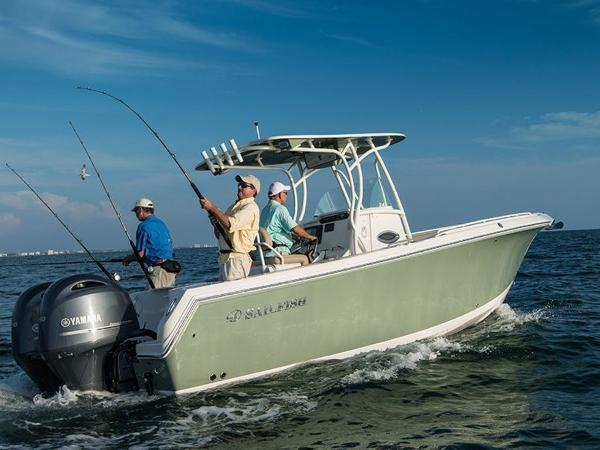 2020 Sailfish boat for sale, model of the boat is 242 CC & Image # 4 of 30
