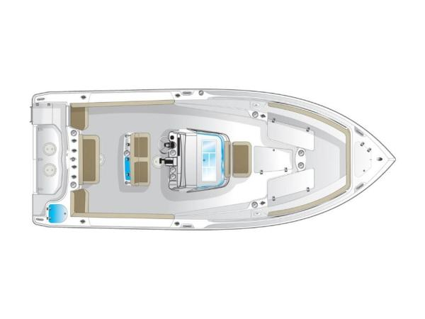 2020 Sailfish boat for sale, model of the boat is 270 CC & Image # 13 of 26