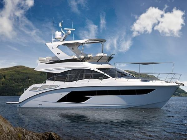 2020 Sea Ray boat for sale, model of the boat is Fly 520 & Image # 1 of 14