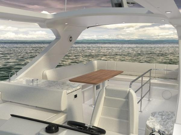 2020 Sea Ray boat for sale, model of the boat is Fly 520 & Image # 3 of 14