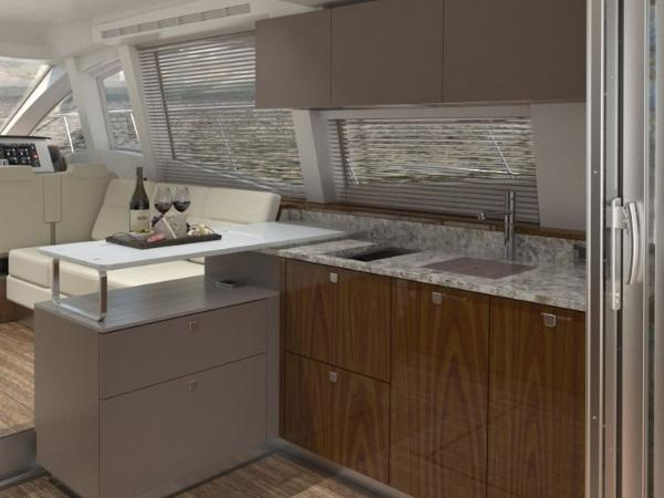 2020 Sea Ray boat for sale, model of the boat is Fly 520 & Image # 4 of 14