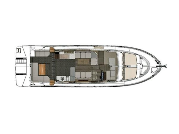 2020 Sea Ray boat for sale, model of the boat is Fly 520 & Image # 8 of 14