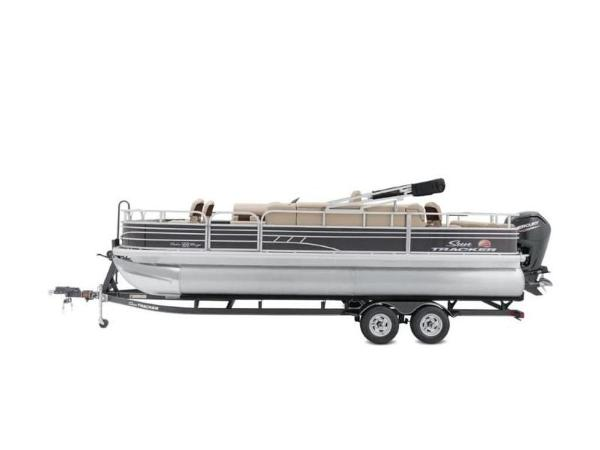 2020 Sun Tracker boat for sale, model of the boat is FISHIN' BARGE® 22 DLX & Image # 3 of 65
