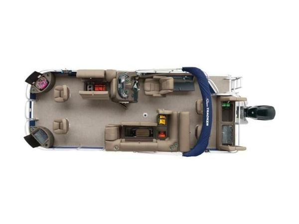 2020 Sun Tracker boat for sale, model of the boat is FISHIN' BARGE® 22 DLX & Image # 4 of 65