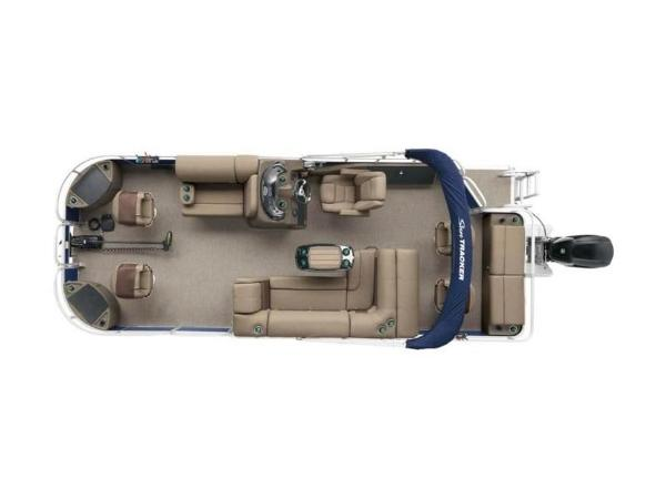 2020 Sun Tracker boat for sale, model of the boat is FISHIN' BARGE® 22 DLX & Image # 5 of 65