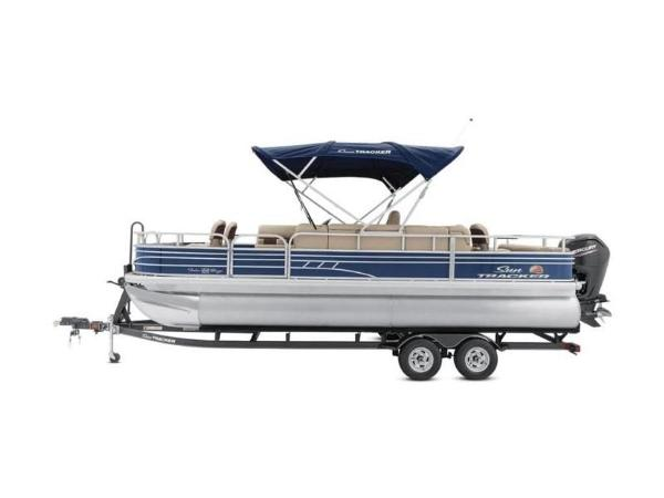 2020 Sun Tracker boat for sale, model of the boat is FISHIN' BARGE® 22 DLX & Image # 12 of 65