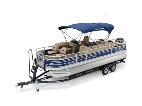 2020 Sun Tracker boat for sale, model of the boat is FISHIN' BARGE® 22 DLX & Image # 17 of 65