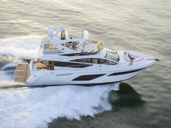 2020 Sea Ray boat for sale, model of the boat is L550 Fly & Image # 1 of 46