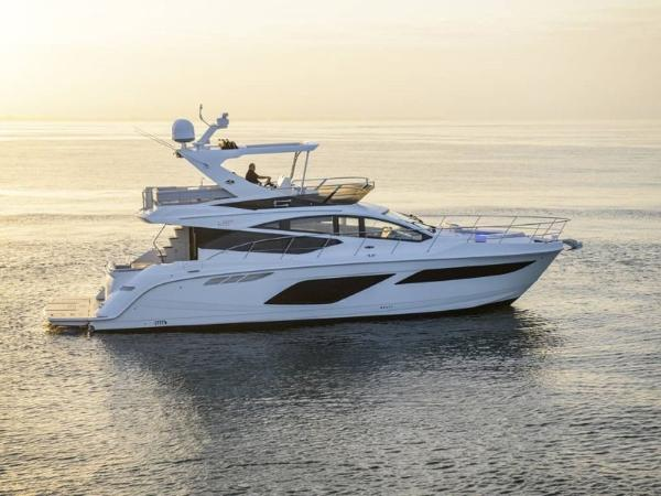2020 Sea Ray boat for sale, model of the boat is L550 Fly & Image # 3 of 46