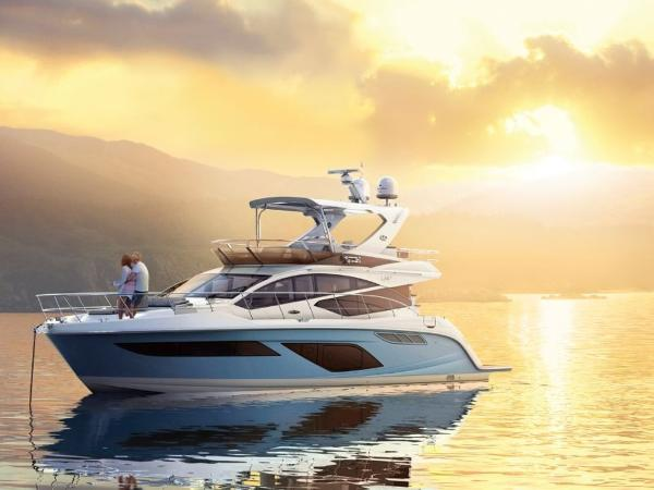 2020 Sea Ray boat for sale, model of the boat is L550 Fly & Image # 4 of 46