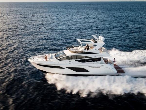 2020 Sea Ray boat for sale, model of the boat is L550 Fly & Image # 11 of 46