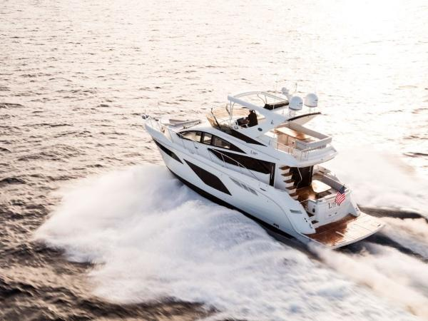2020 Sea Ray boat for sale, model of the boat is L550 Fly & Image # 14 of 46