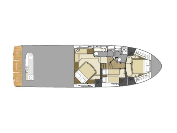 2020 Sea Ray boat for sale, model of the boat is L550 Fly & Image # 30 of 46