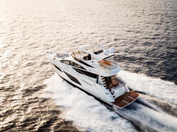 2020 Sea Ray boat for sale, model of the boat is L550 Fly & Image # 35 of 46