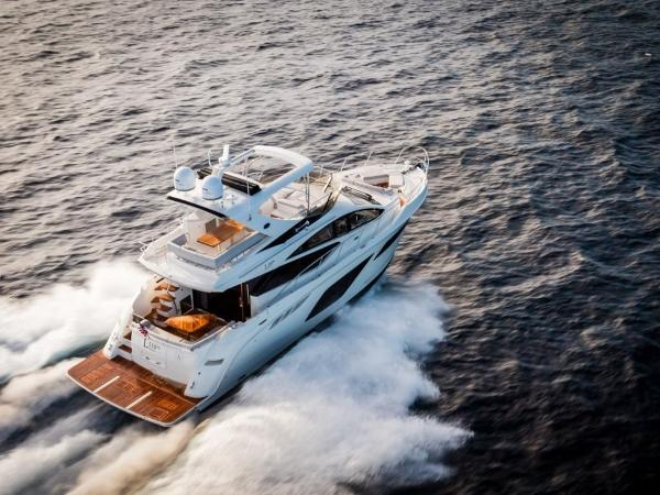 2020 Sea Ray boat for sale, model of the boat is L550 Fly & Image # 41 of 46