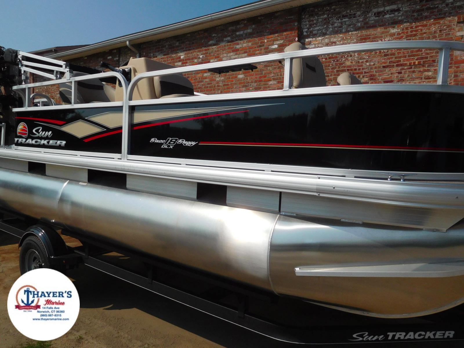 2018 Sun Tracker boat for sale, model of the boat is Bass Buggy 18 DLX & Image # 24 of 35