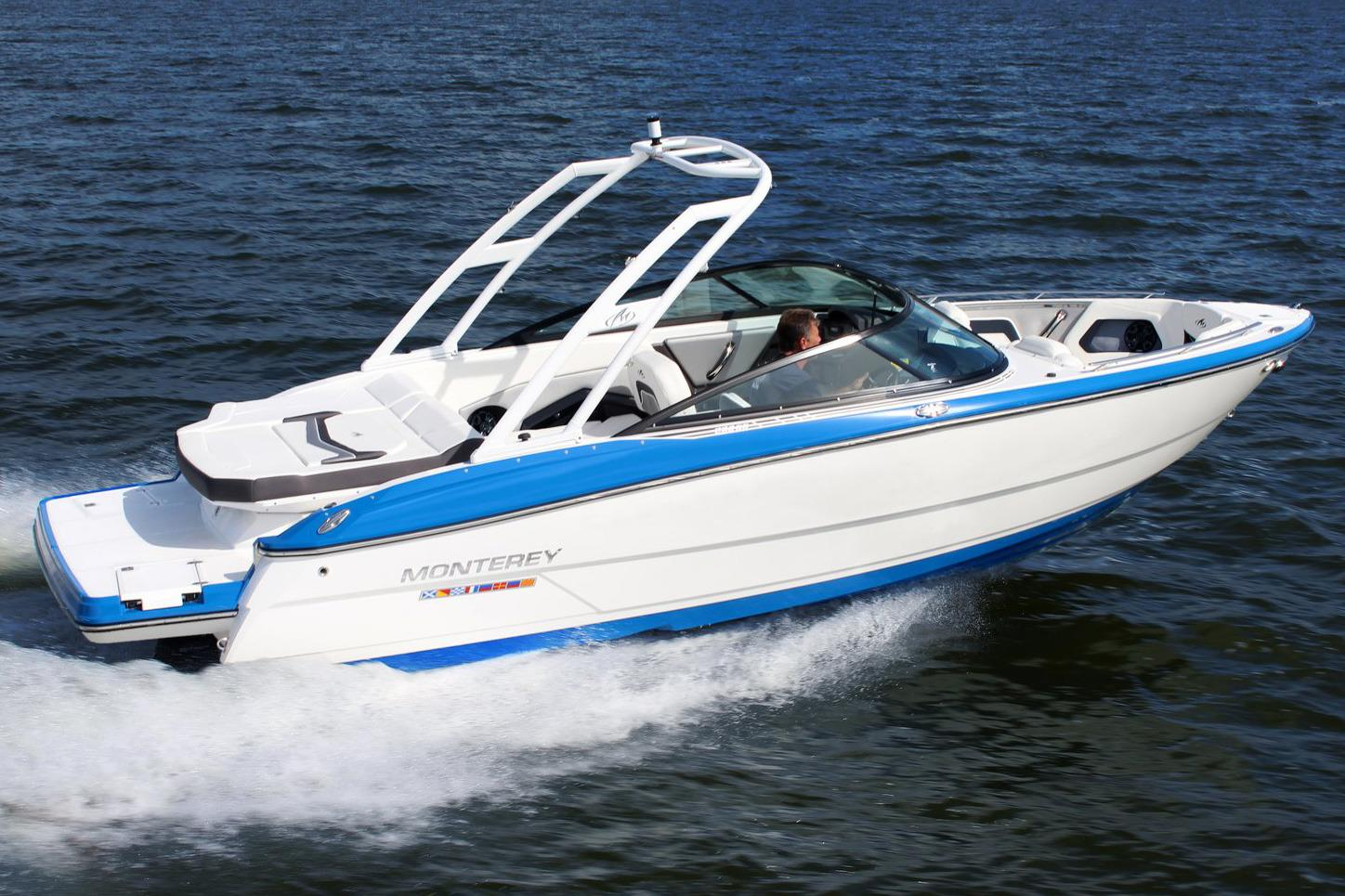 For sale new 2017 monterey 238 super sport in alton for Monterey sport fishing