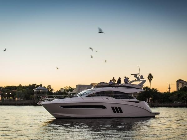 2020 Sea Ray boat for sale, model of the boat is Fly 510 & Image # 2 of 23