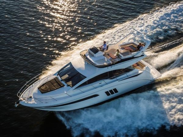 2020 Sea Ray boat for sale, model of the boat is Fly 510 & Image # 3 of 23
